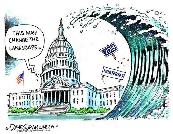 November 2018 Elections:  Making Way for the Blue Wave?