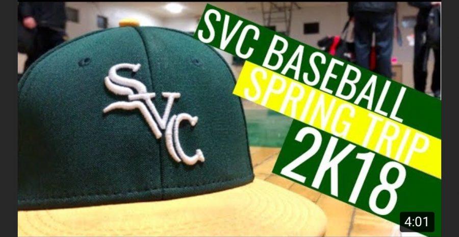 SVC Baseball Team Spring '18 Virginia Trip